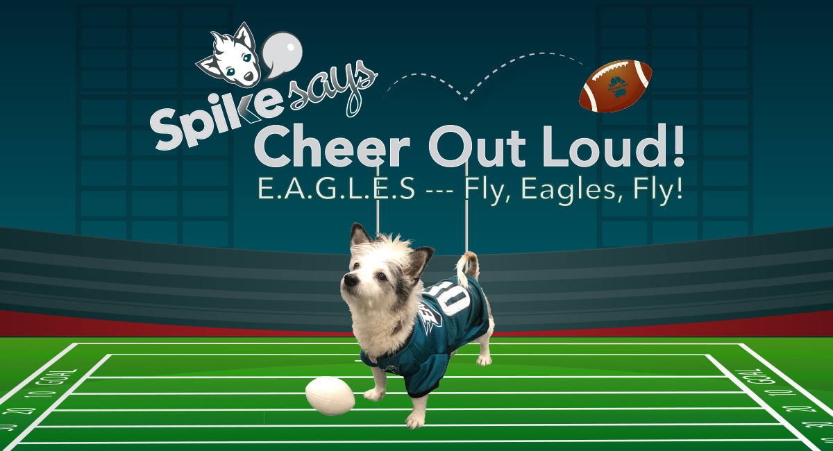 Cheer out loud banner