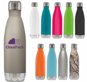 multiple bottles with logos