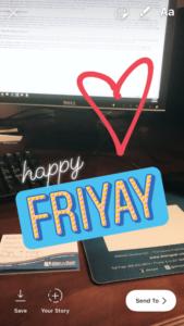 Happy Friyay story