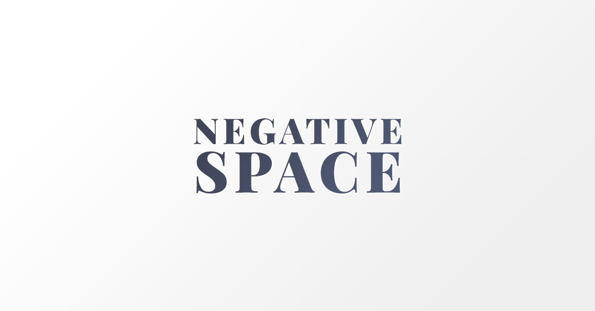 Negative Space banner